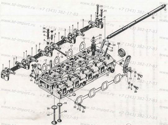 Прокладка впускного коллектора NA485B-03016 485BPG