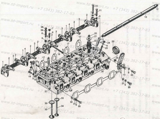 Прокладка выпускного коллектора NA385B-03003 485BPG