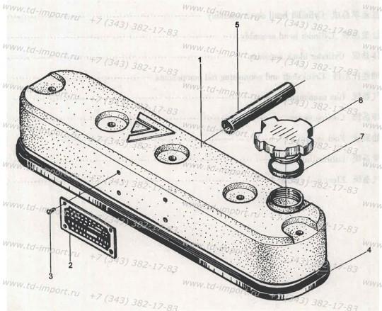 Прокладка крышки горловины 490B-11014 485BPG