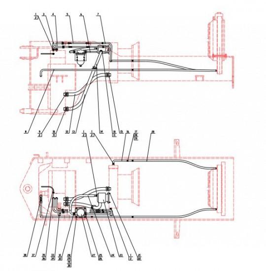 Гидротрансформатор трубки CDM833
