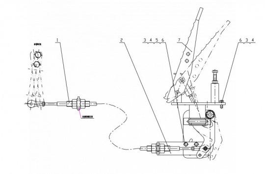 Педаль газа CDM833