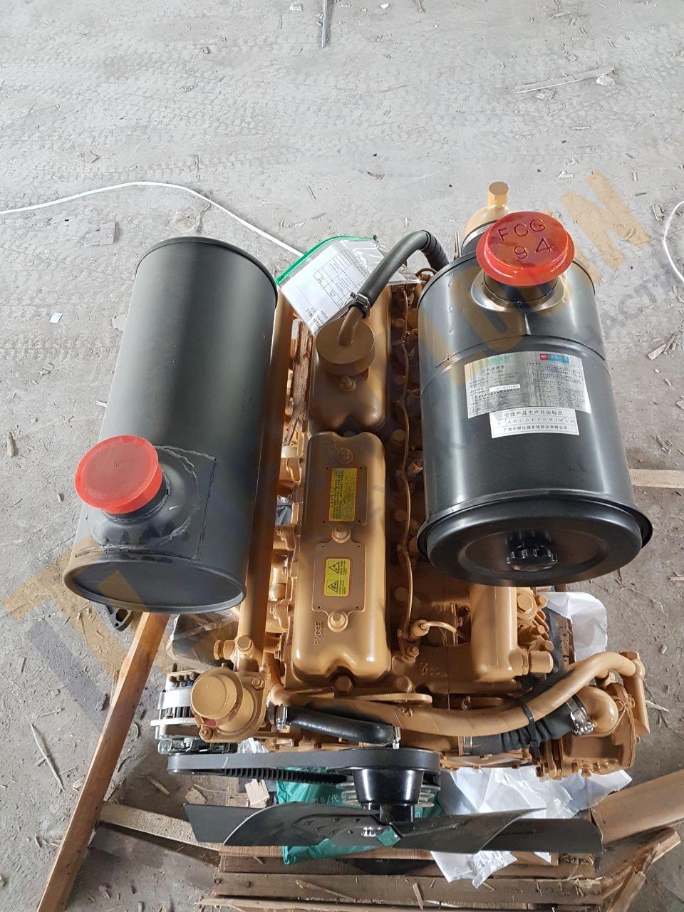 Двигатель Yuchai YC6B125-T21 в сборе