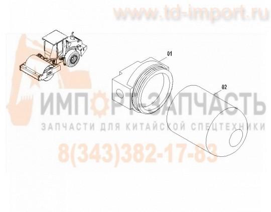 Гидравлический фильтр CLG614H 53C0153