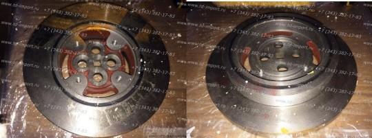 Демпфер шкив коленвала D9-220 D06A-002-34